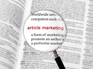 Getting Visitors To Your Site – Article Marketing to Drive Traffic